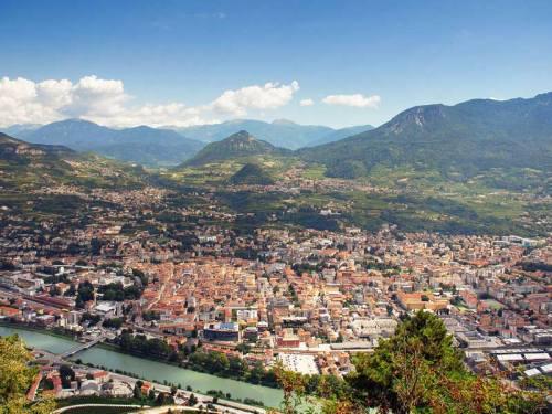 Trento_-_dall_alto